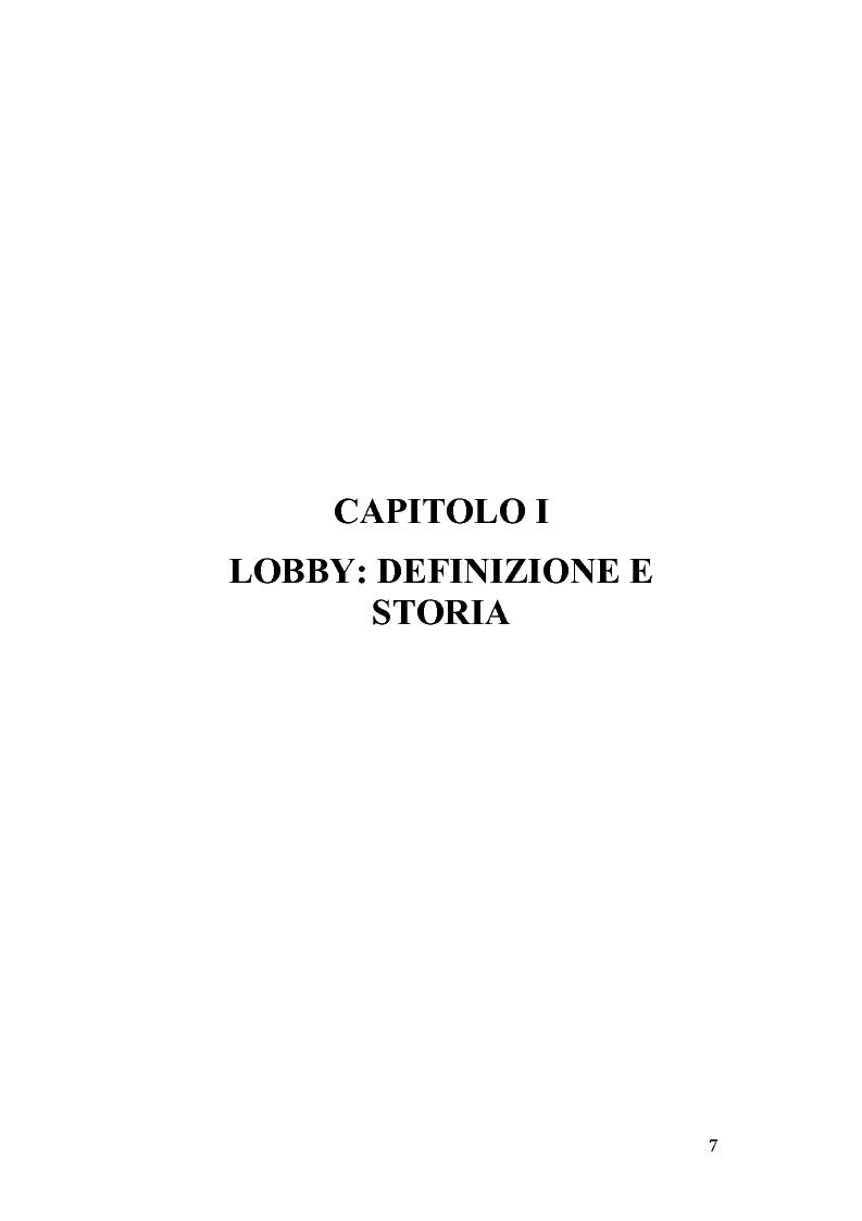 Anteprima della tesi: Gruppi di pressione nel sistema politico americano, Pagina 3