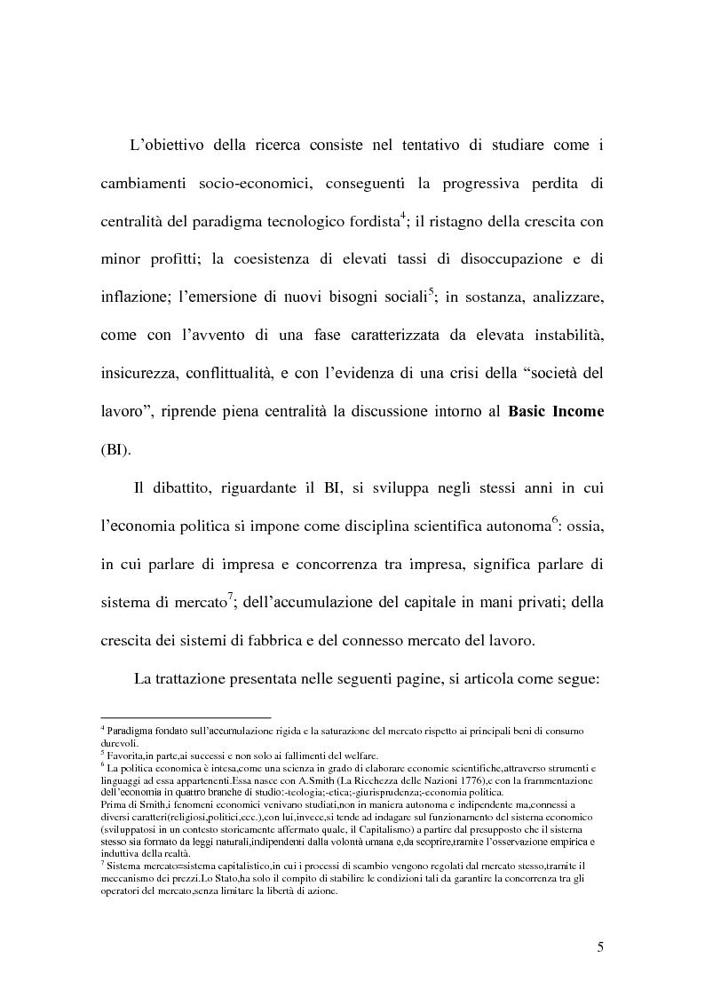 Anteprima della tesi: Minimum Income, Pagina 2