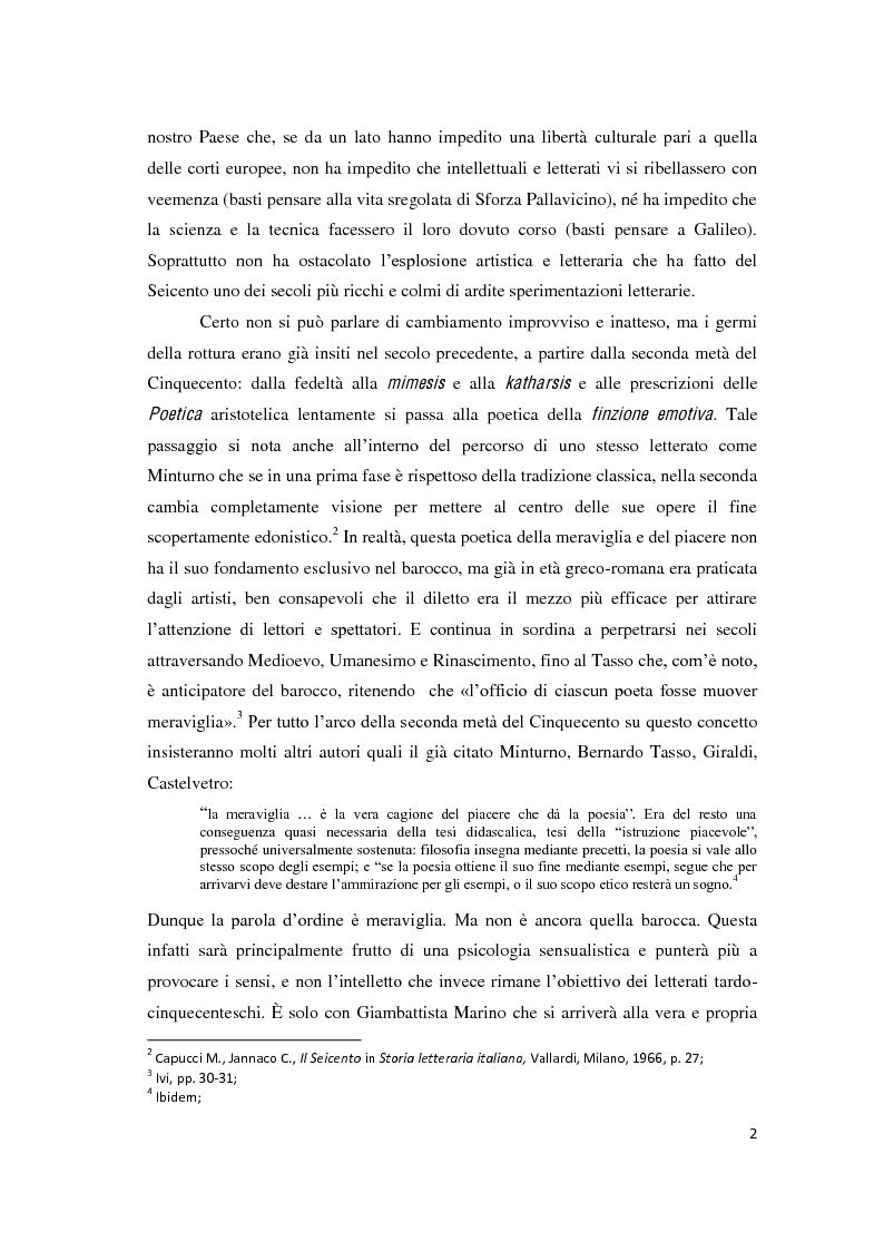 """Anteprima della tesi: Il romanzo secentesco e i suoi generi testuali: analisi del """"Cordimarte"""" di G. Artale, Pagina 2"""