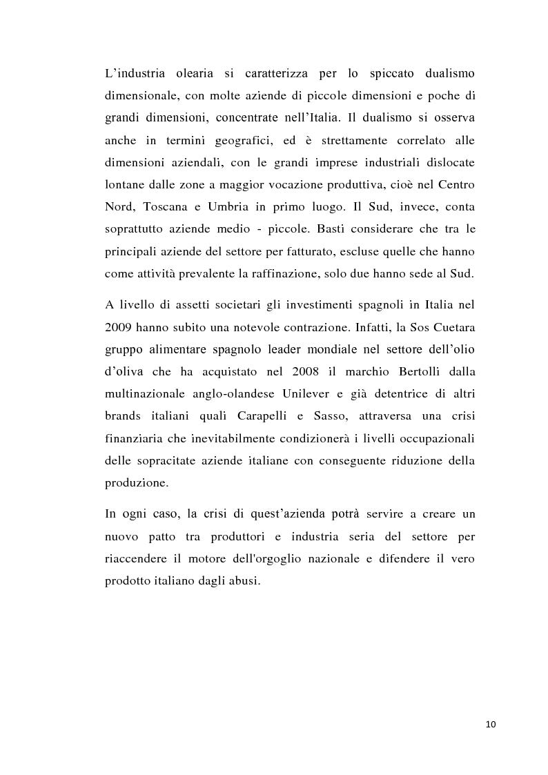 Anteprima della tesi: Strategie imprenditoriali nell'industria olearia: il caso Salov, Pagina 2