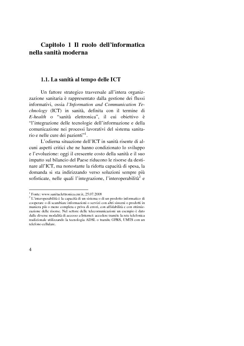 Anteprima della tesi: Dalle nuove tecnologie in sanità all'e-health marketing, Pagina 4