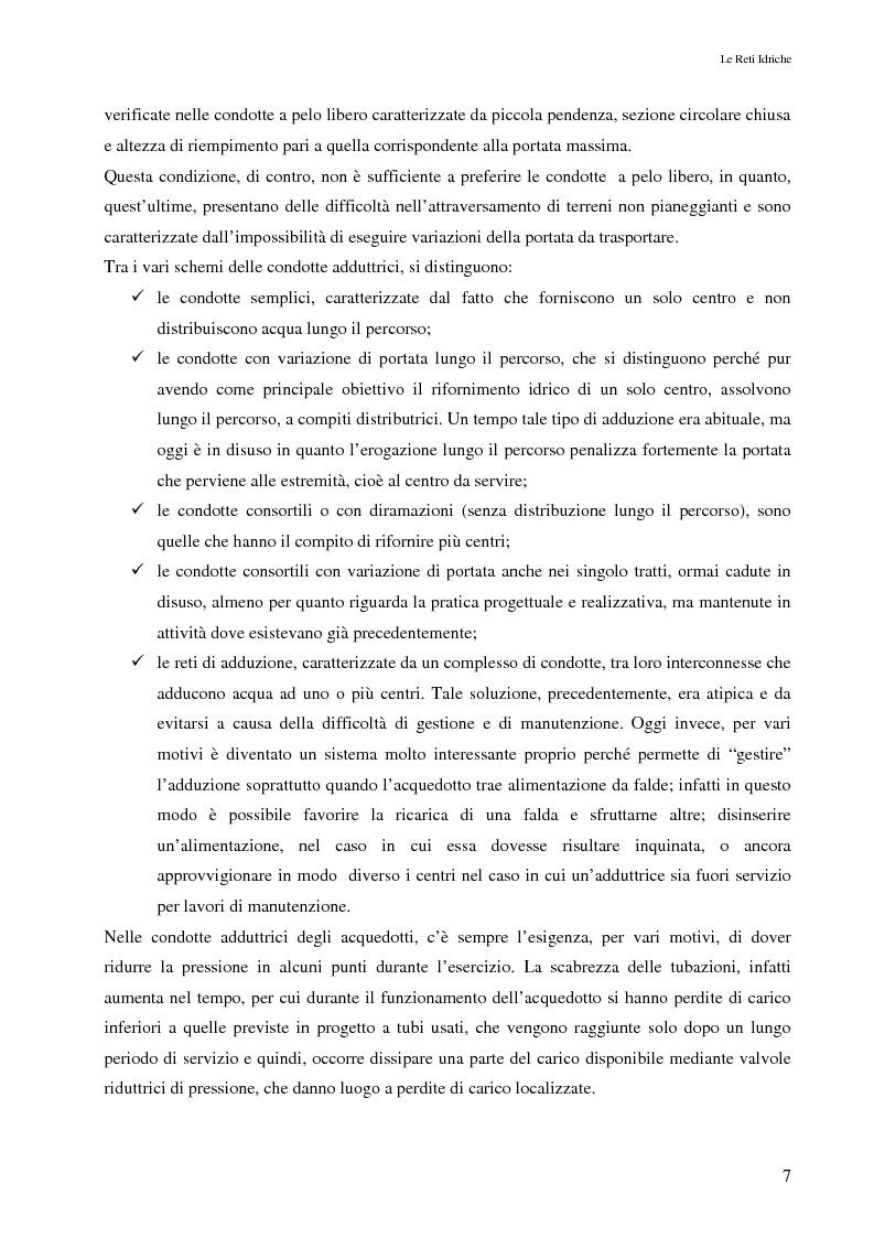 Anteprima della tesi: Il controllo attivo delle perdite nelle reti idriche: il caso della rete di Ponte Piccolo (CZ), Pagina 4