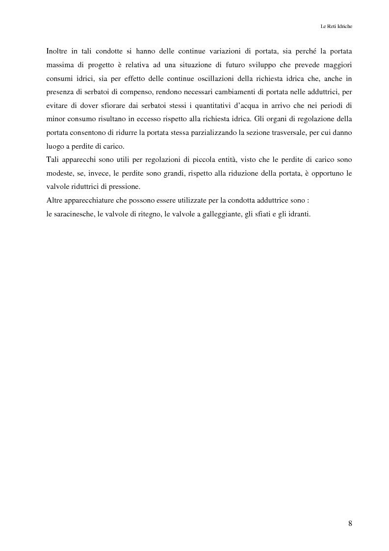Anteprima della tesi: Il controllo attivo delle perdite nelle reti idriche: il caso della rete di Ponte Piccolo (CZ), Pagina 5