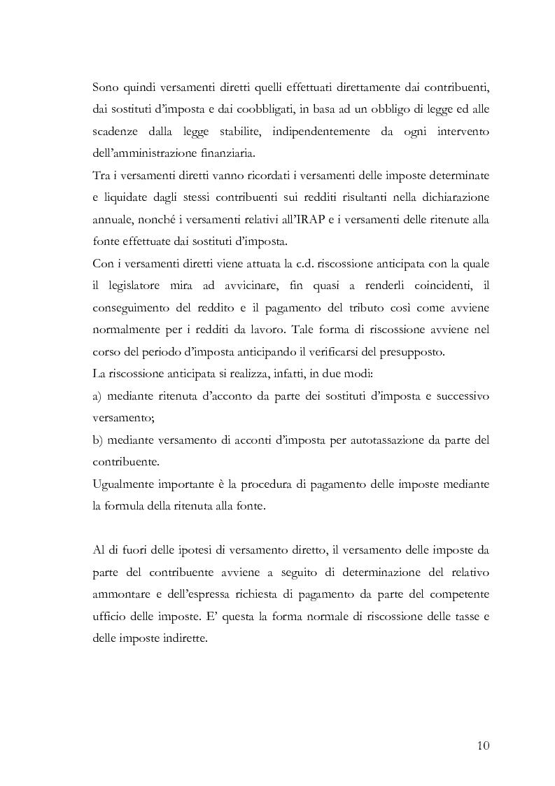 Anteprima della tesi: Il fermo amministrativo nella giurisdizione tributaria, Pagina 7
