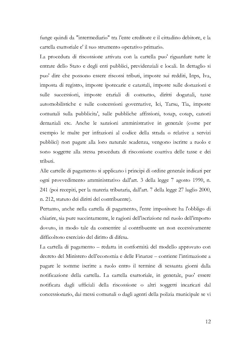 Anteprima della tesi: Il fermo amministrativo nella giurisdizione tributaria, Pagina 9