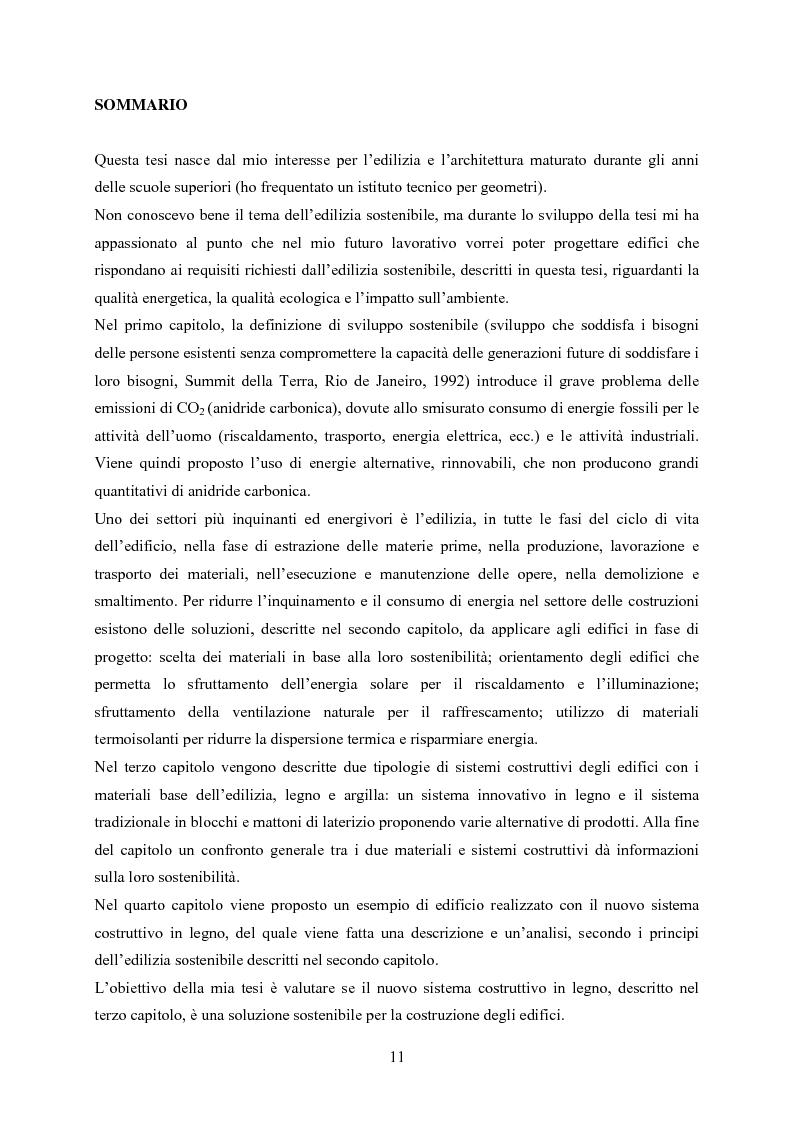 Anteprima della tesi: Nuovi sistemi costruttivi per un'edlizia più sostenibile, Pagina 1