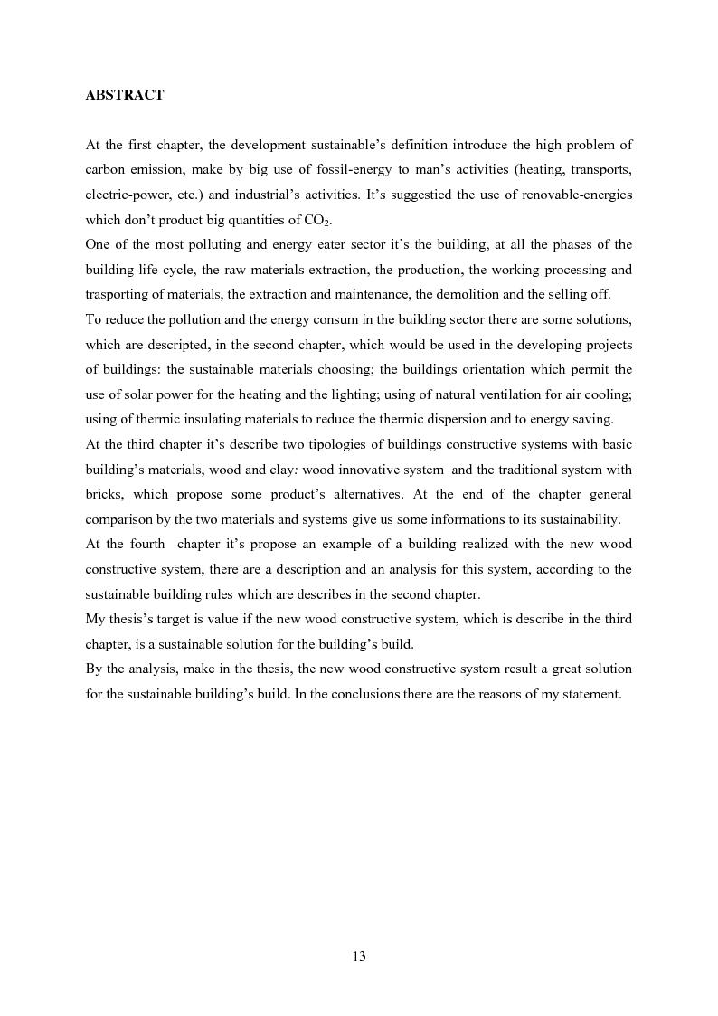 Anteprima della tesi: Nuovi sistemi costruttivi per un'edlizia più sostenibile, Pagina 3