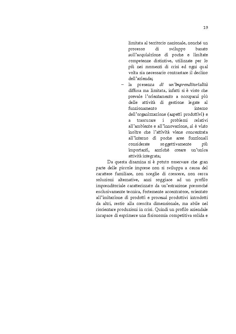 Anteprima della tesi: L'internazionalizzazione delle Pmi: il caso moda Italia, Pagina 15