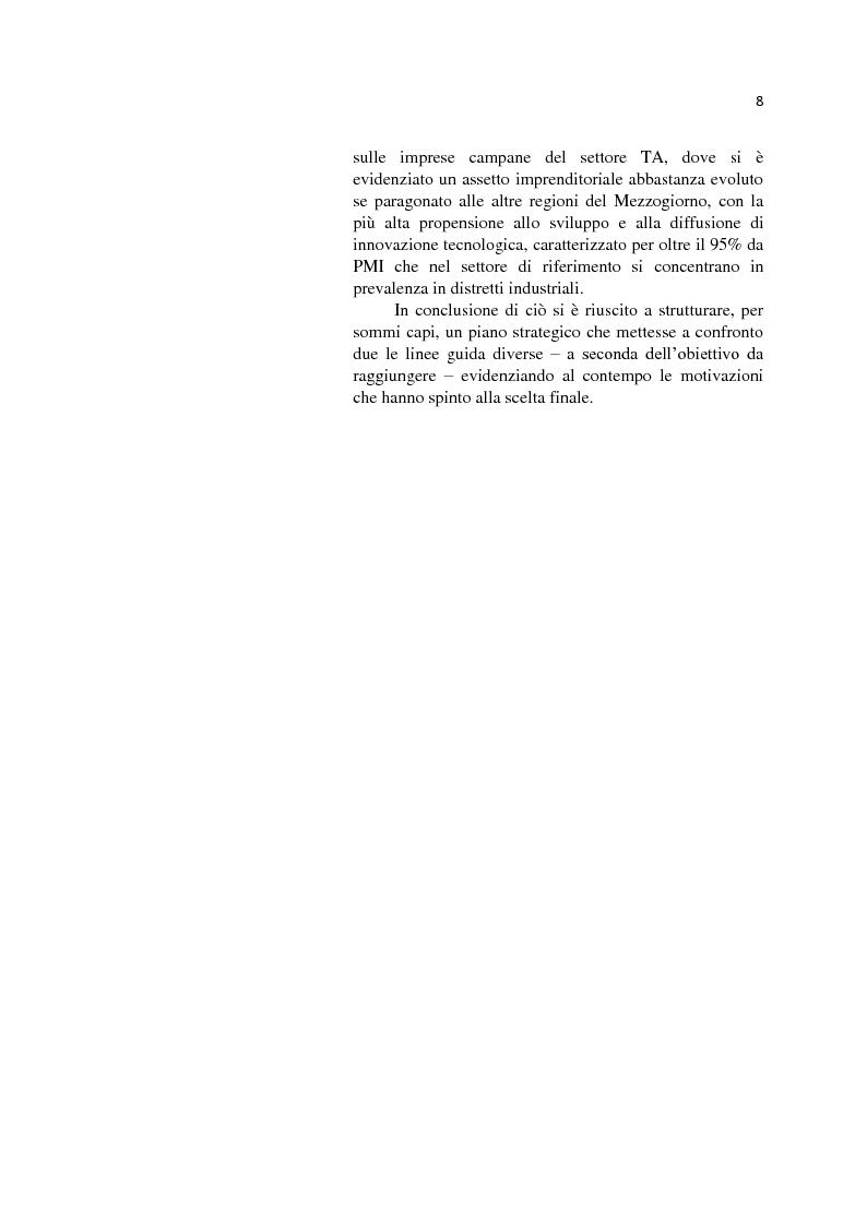 Anteprima della tesi: L'internazionalizzazione delle Pmi: il caso moda Italia, Pagina 4