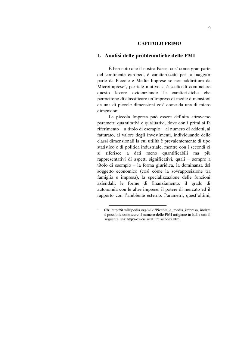 Anteprima della tesi: L'internazionalizzazione delle Pmi: il caso moda Italia, Pagina 5