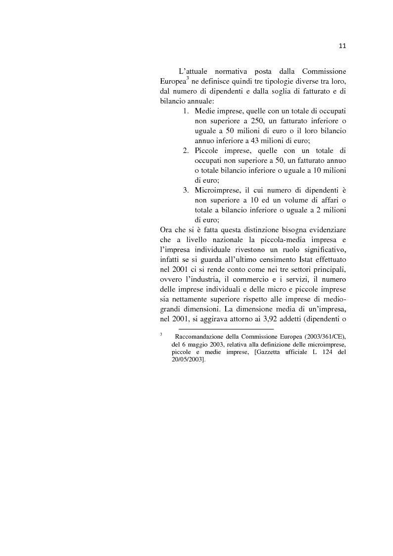 Anteprima della tesi: L'internazionalizzazione delle Pmi: il caso moda Italia, Pagina 7