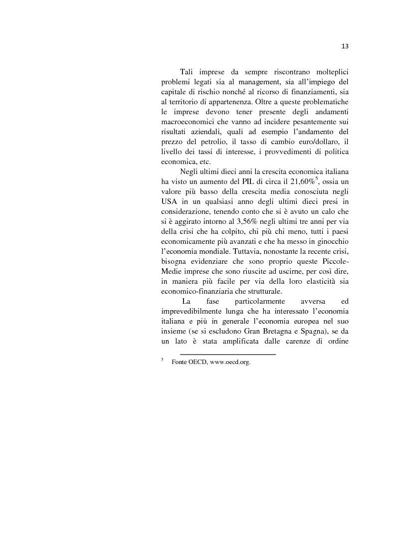 Anteprima della tesi: L'internazionalizzazione delle Pmi: il caso moda Italia, Pagina 9