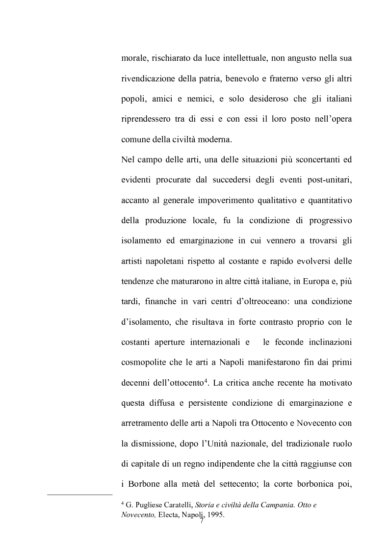Anteprima della tesi: La Napoli letteraria di fine 800, Pagina 5