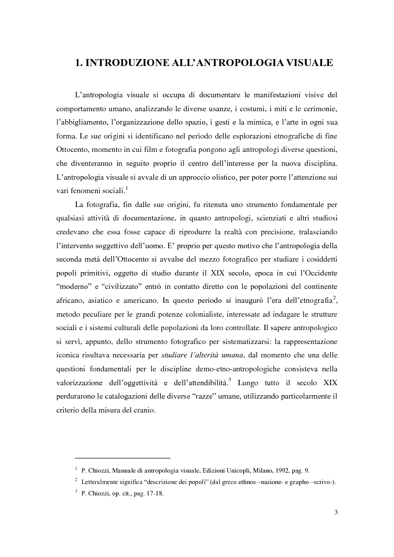Anteprima della tesi: Da Ernesto De Martino a Michael Herzfeld: la cultura popolare italiana nell'antropologia visiva, Pagina 2