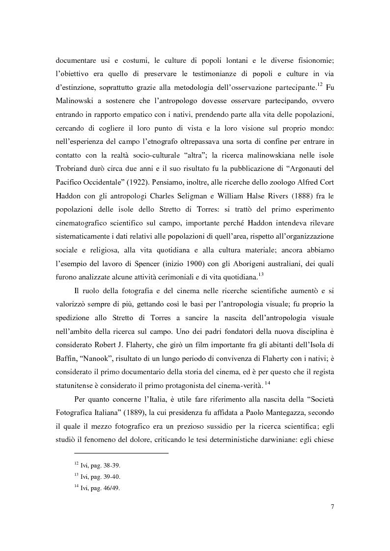 Anteprima della tesi: Da Ernesto De Martino a Michael Herzfeld: la cultura popolare italiana nell'antropologia visiva, Pagina 6
