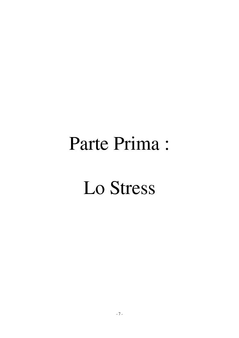 Anteprima della tesi: Call center e telestress. La patologia corre sl filo del telefono: quando lavorare diventa una malattia., Pagina 1