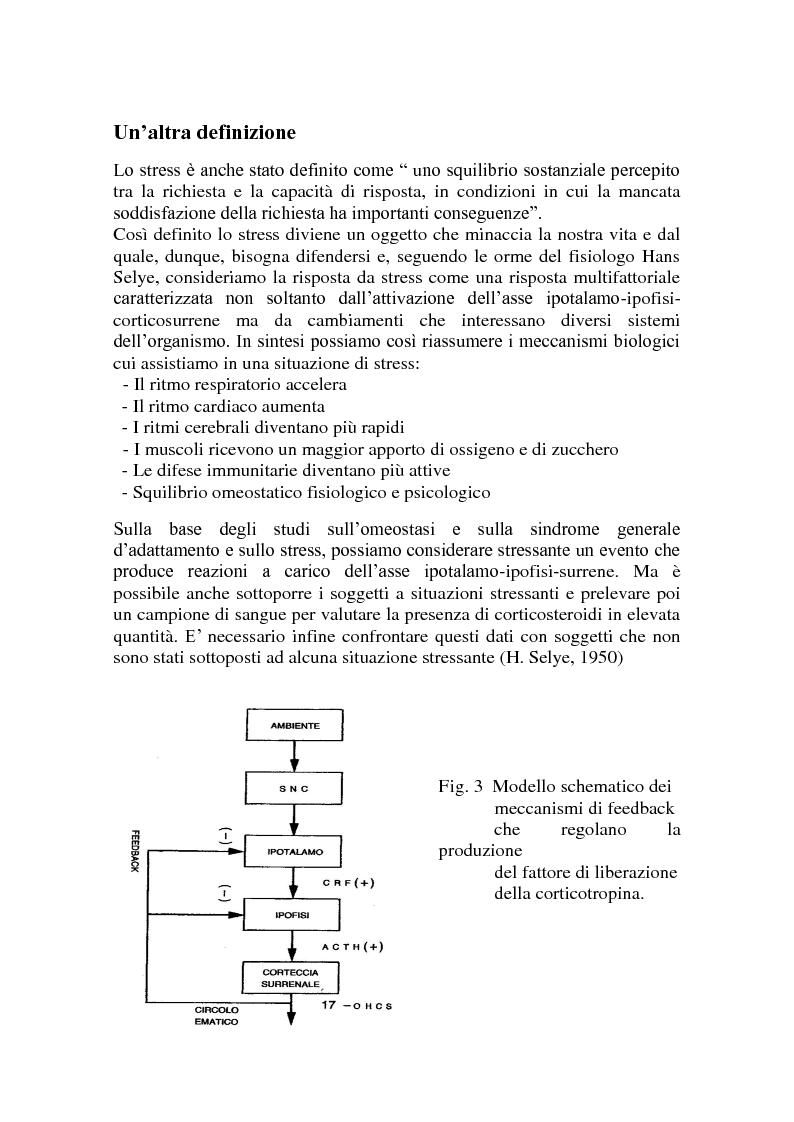 Anteprima della tesi: Call center e telestress. La patologia corre sl filo del telefono: quando lavorare diventa una malattia., Pagina 5