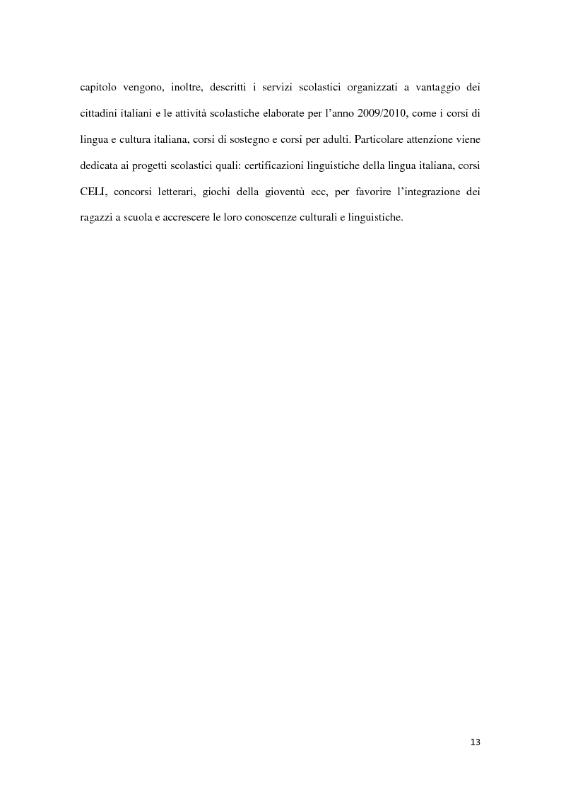Anteprima della tesi: Integrazione e successo scolastico dei figli degli immigrati italiani in Germania. Uno studio basato sull'attività del Consolato Italiano di Stoccarda., Pagina 5