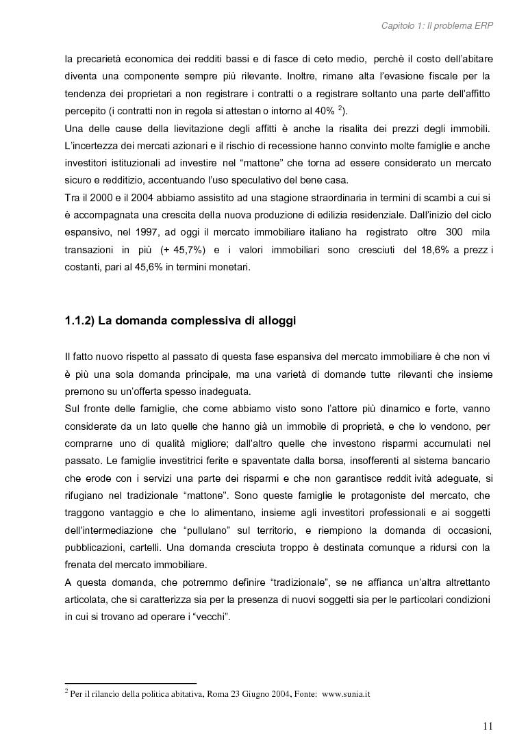 Anteprima della tesi: Opportunità di miglioramento nella gestione del patrimonio di edilizia residenziale pubblica in Lombardia: il caso del Comune di Cremona, Pagina 11