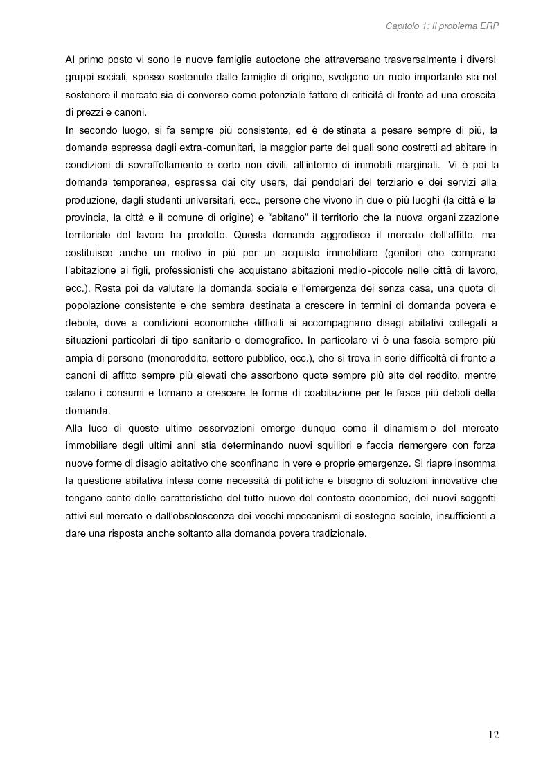 Anteprima della tesi: Opportunità di miglioramento nella gestione del patrimonio di edilizia residenziale pubblica in Lombardia: il caso del Comune di Cremona, Pagina 12