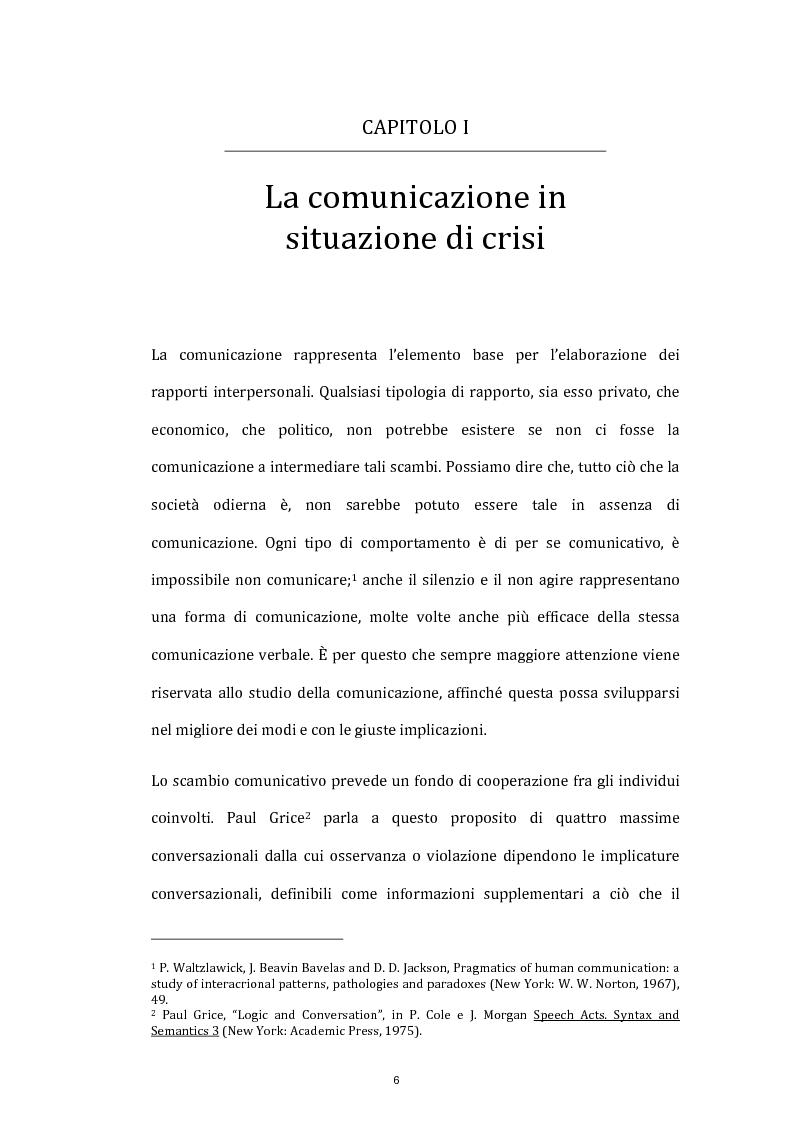 Anteprima della tesi: La comunicazione istituzionale e l'informazione in situazione di crisi: gli attentati terroristici dell'11 marzo 2004 a Madrid, Pagina 3