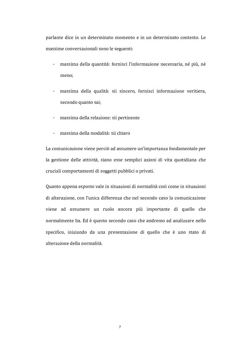 Anteprima della tesi: La comunicazione istituzionale e l'informazione in situazione di crisi: gli attentati terroristici dell'11 marzo 2004 a Madrid, Pagina 4