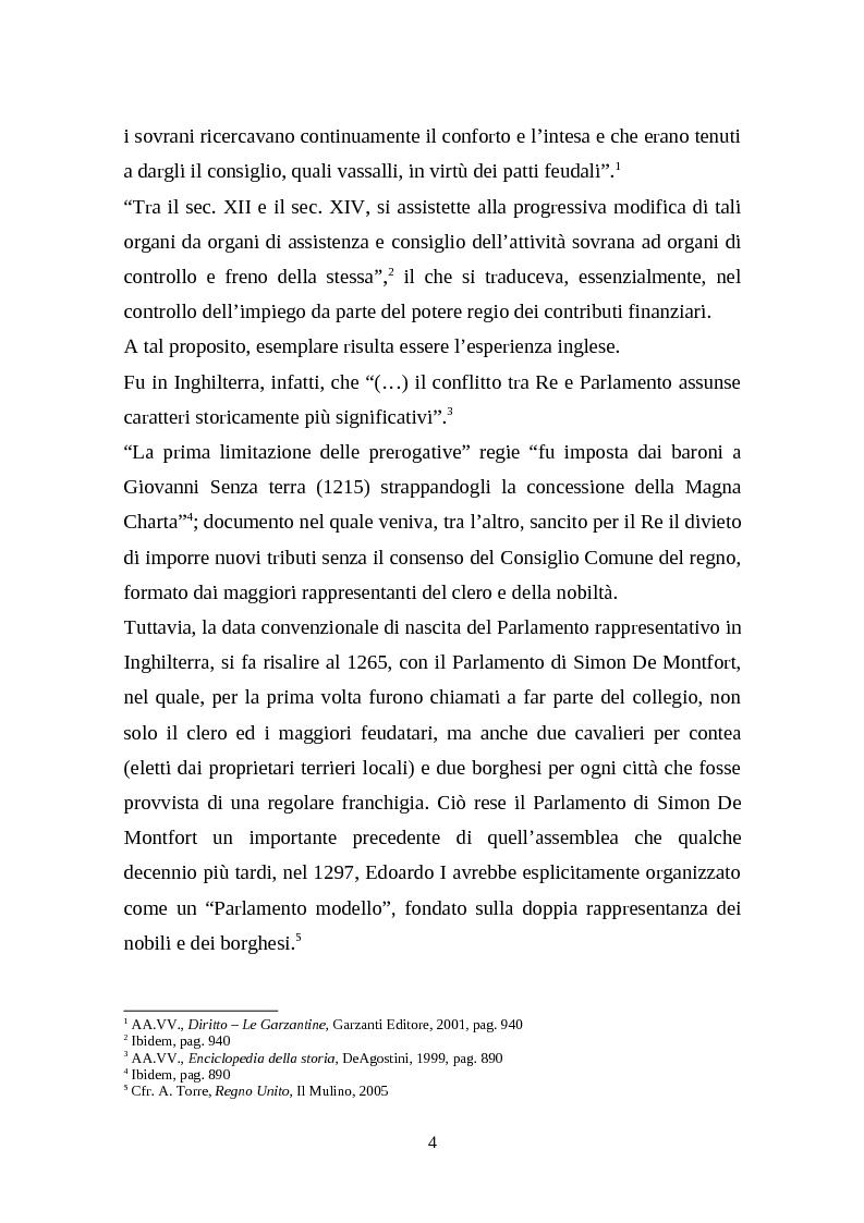 Anteprima della tesi: Il legislativo in Italia e in Francia: esperienze a confronto, Pagina 2