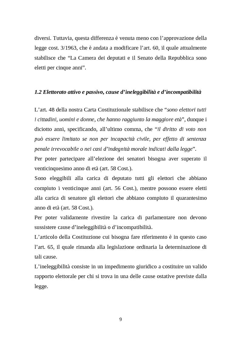 Anteprima della tesi: Il legislativo in Italia e in Francia: esperienze a confronto, Pagina 7