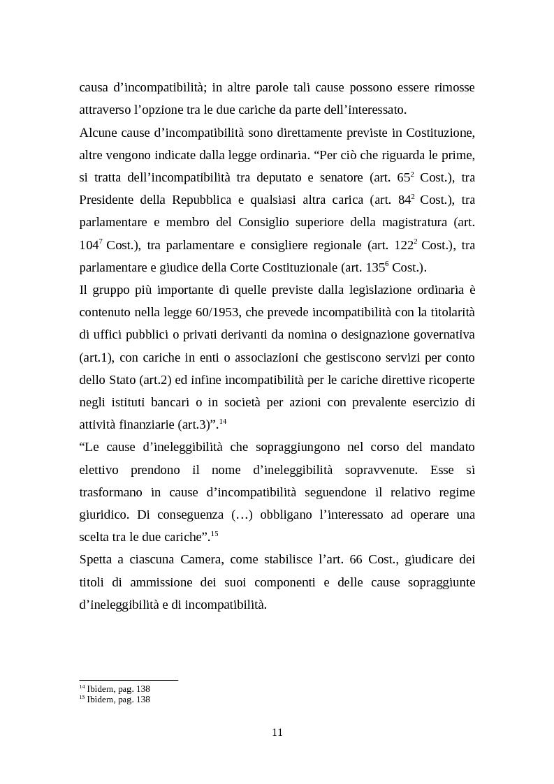 Anteprima della tesi: Il legislativo in Italia e in Francia: esperienze a confronto, Pagina 9