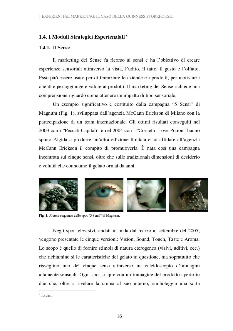 Anteprima della tesi: Experiential Marketing: il caso della Guinness Storehouse, Pagina 10