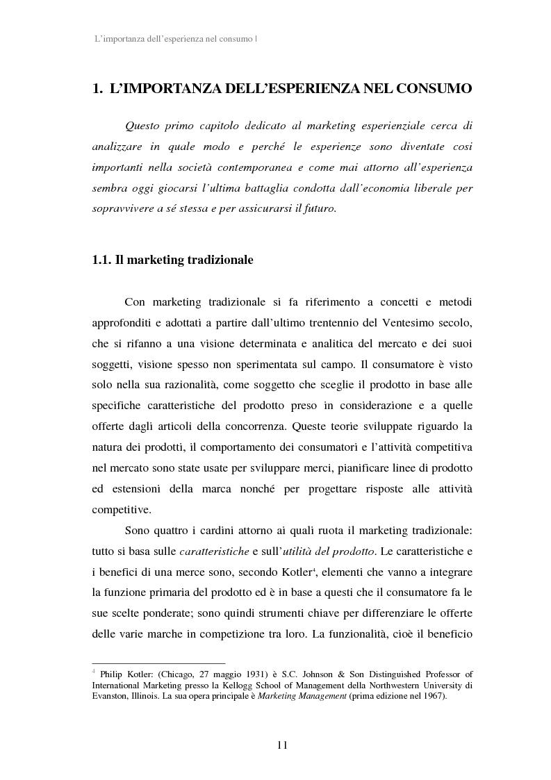Anteprima della tesi: Experiential Marketing: il caso della Guinness Storehouse, Pagina 5
