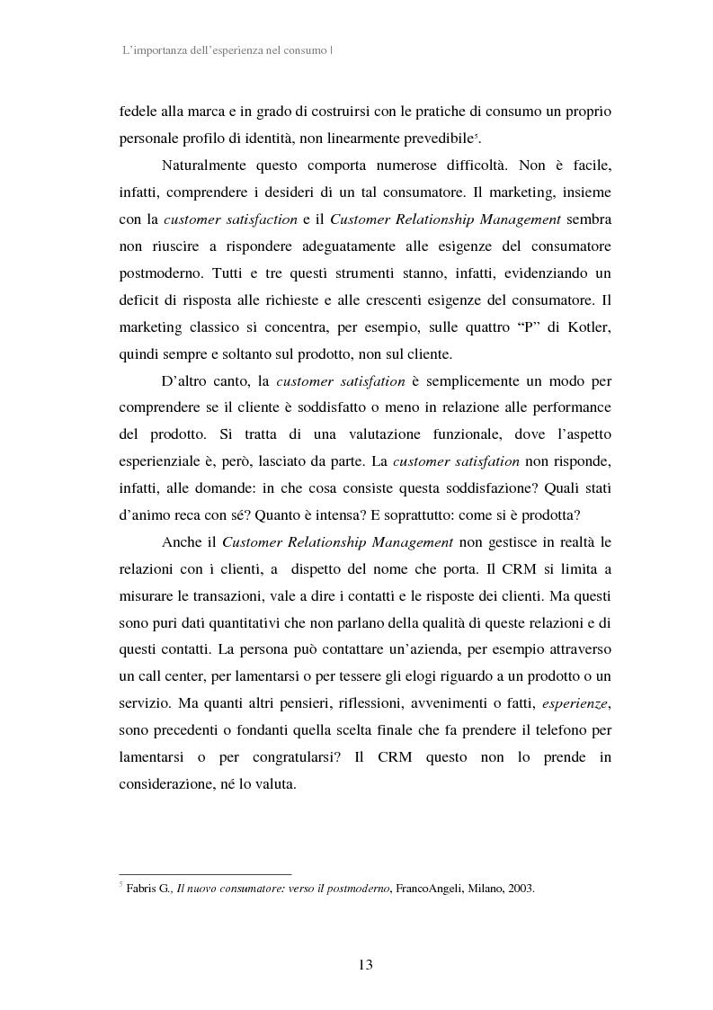 Anteprima della tesi: Experiential Marketing: il caso della Guinness Storehouse, Pagina 7