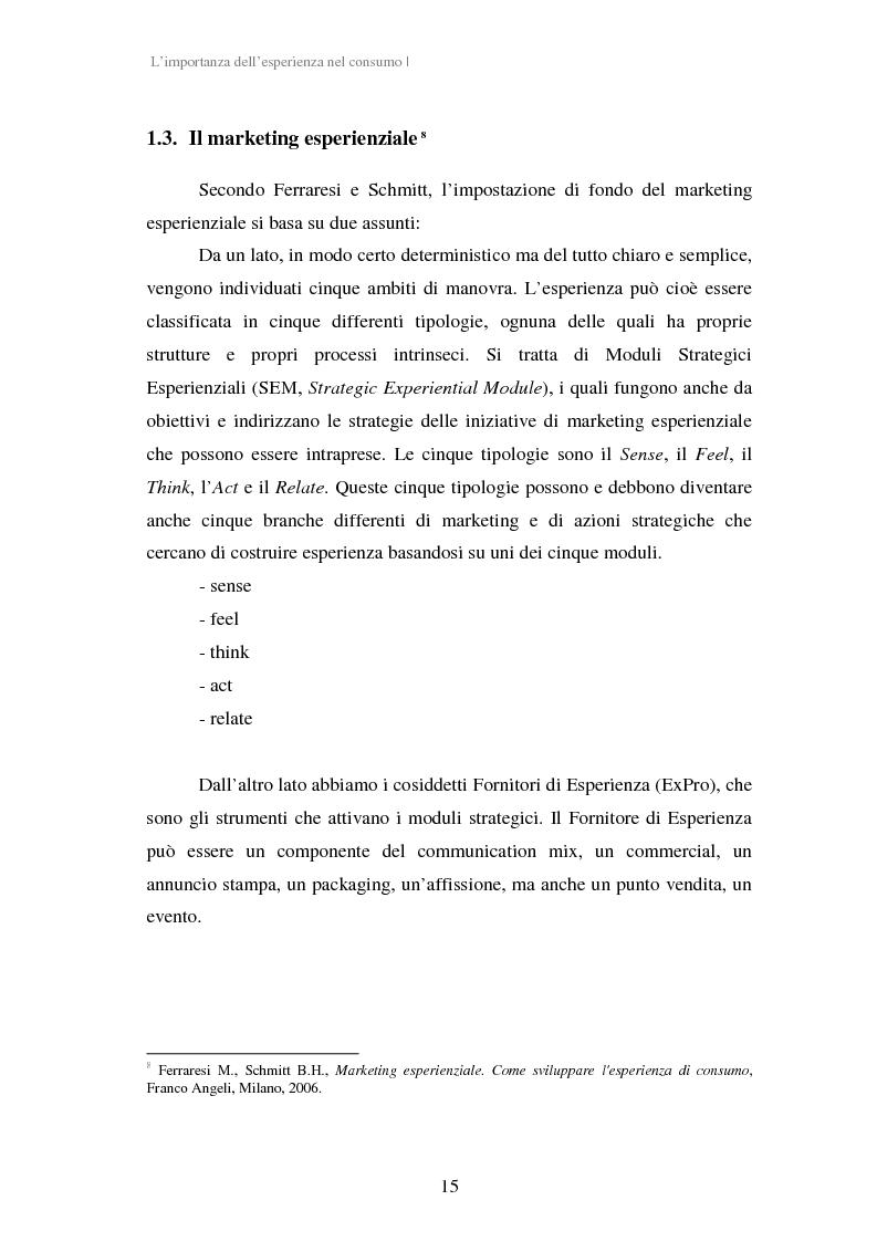 Anteprima della tesi: Experiential Marketing: il caso della Guinness Storehouse, Pagina 9