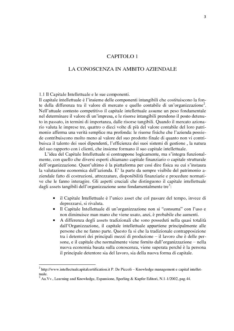 Anteprima della tesi: Knowledge workers & knowledge management, Pagina 3