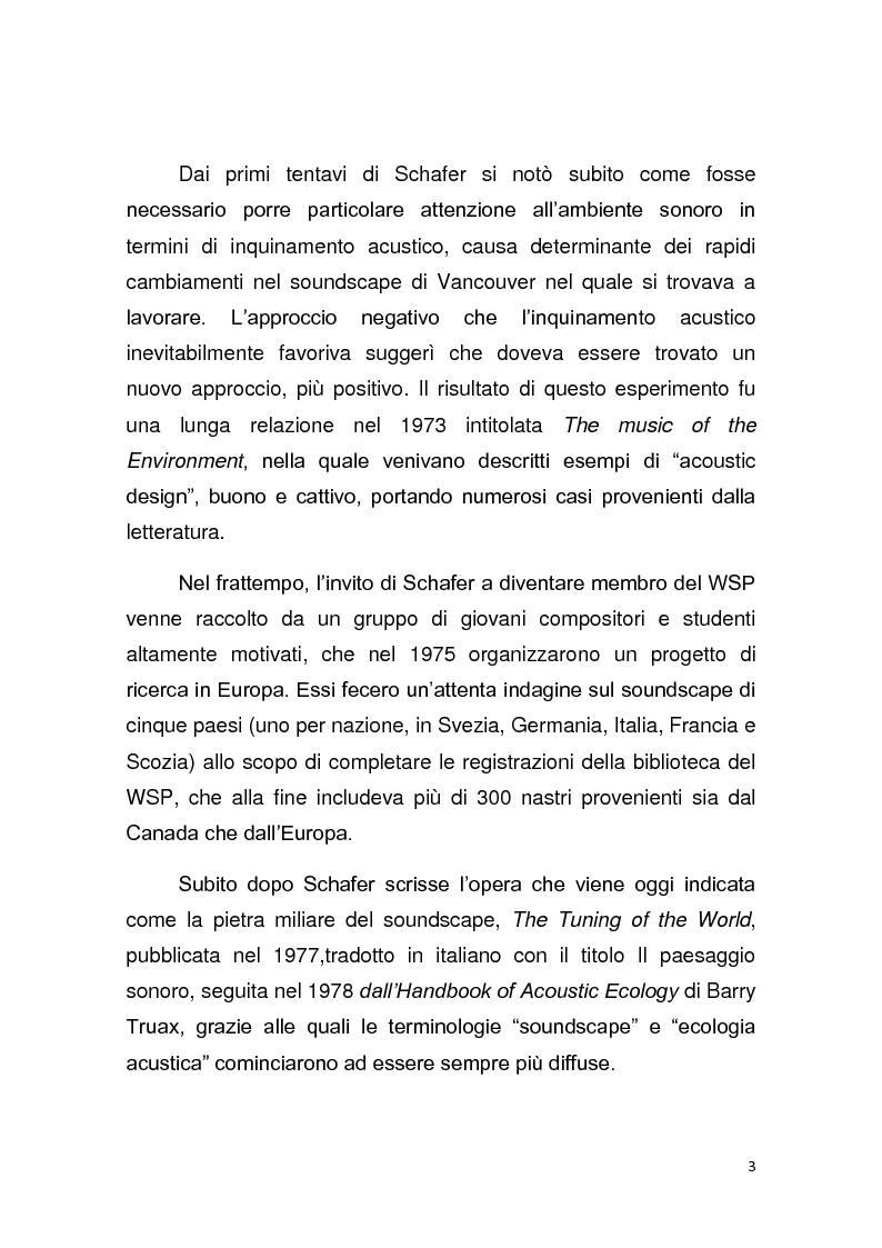 Anteprima della tesi: Contributo allo studio del soundscape: la nicchia acustica di Sylvia atricapilla, Pagina 2