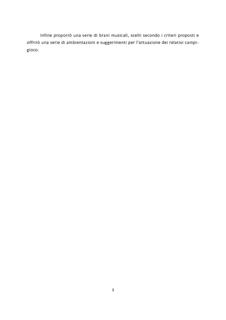 Anteprima della tesi: La scelta della musica nei campi-gioco. L'apporto del fonosimbolismo musicale alla ludicità in Biomusica., Pagina 2