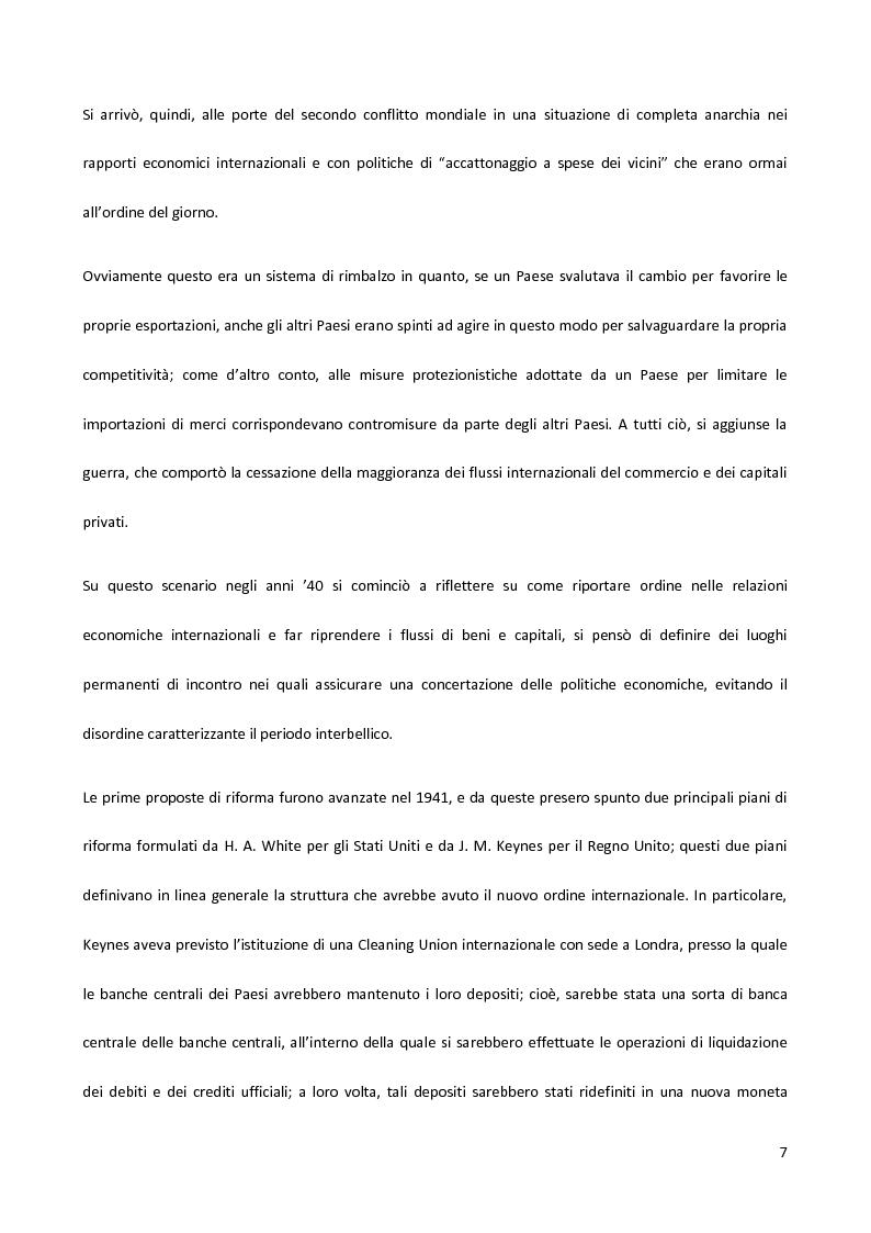 Anteprima della tesi: Il Fondo Monetario Internazionale e i principi di condizionalità, Pagina 7