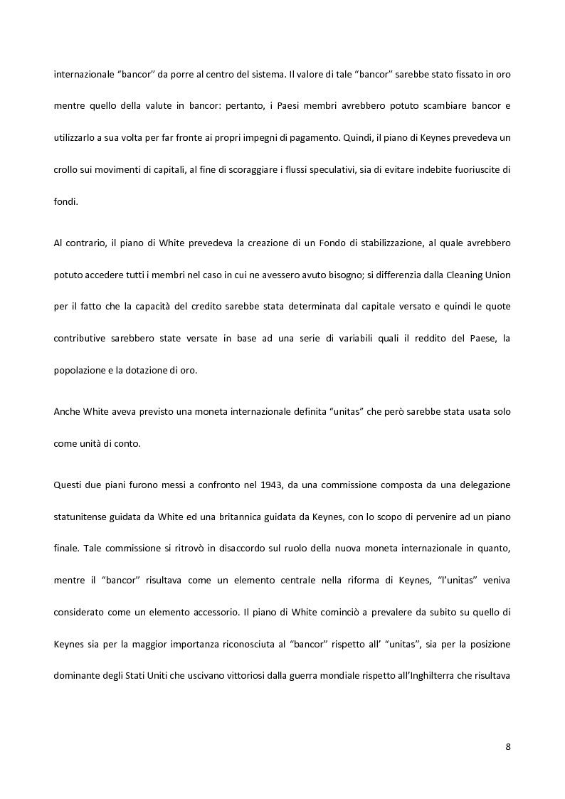 Anteprima della tesi: Il Fondo Monetario Internazionale e i principi di condizionalità, Pagina 8