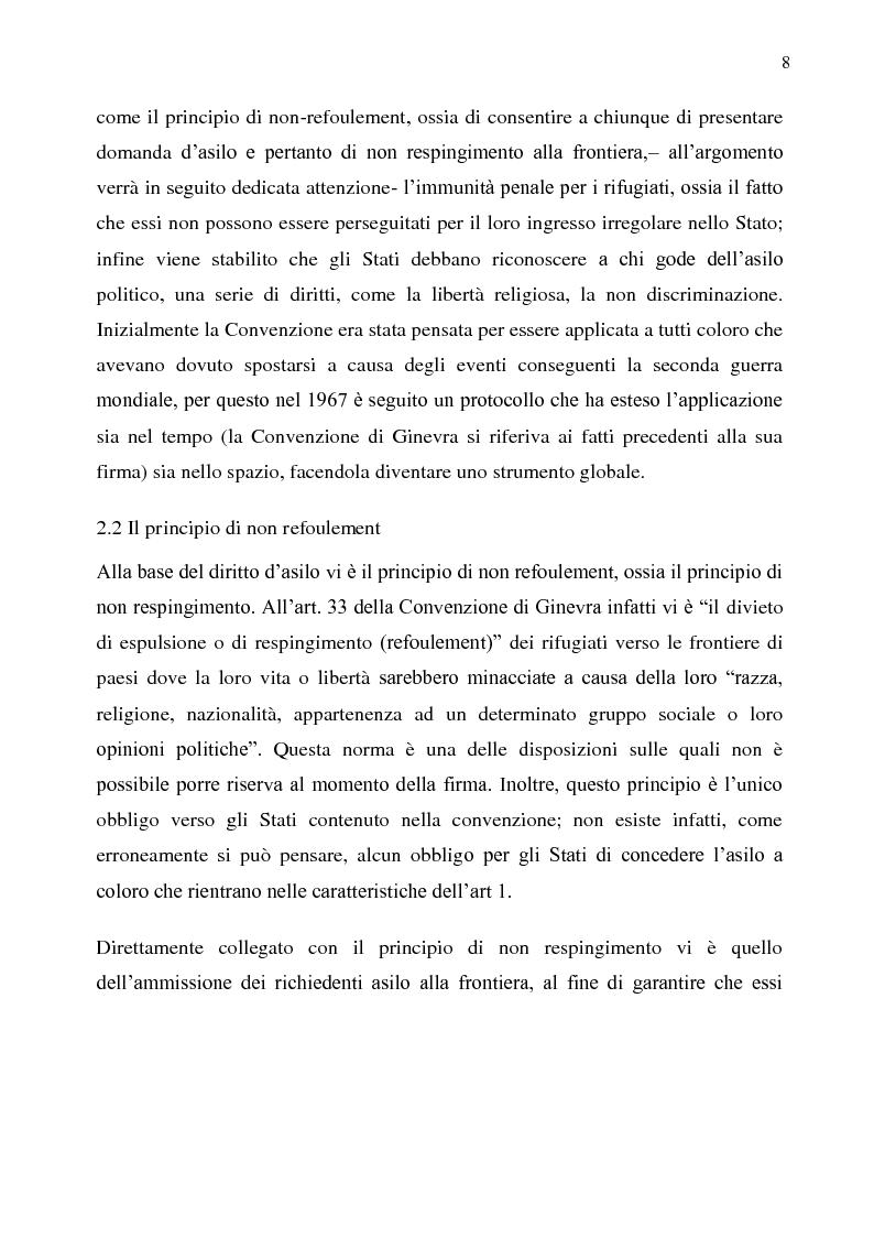 Anteprima della tesi: Il diritto d'asilo nell'Unione Europea e il regolamento 343/2003, Pagina 4