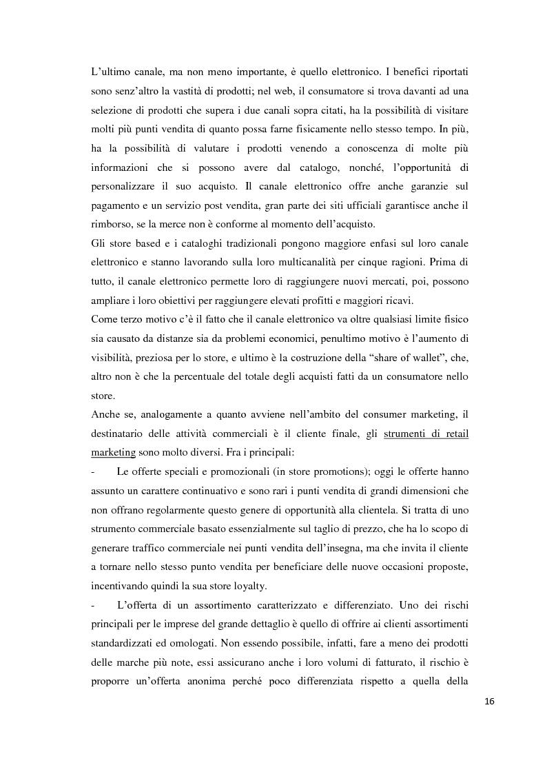 Anteprima della tesi: Il temporary store come tecnica di retail marketing, Pagina 11