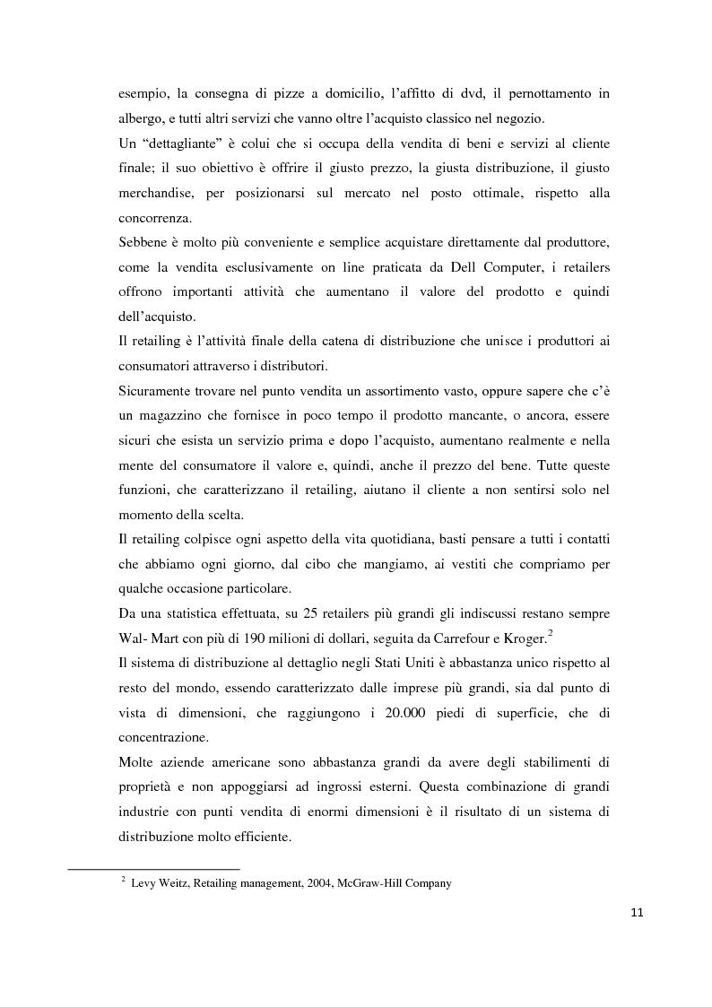 Anteprima della tesi: Il temporary store come tecnica di retail marketing, Pagina 6