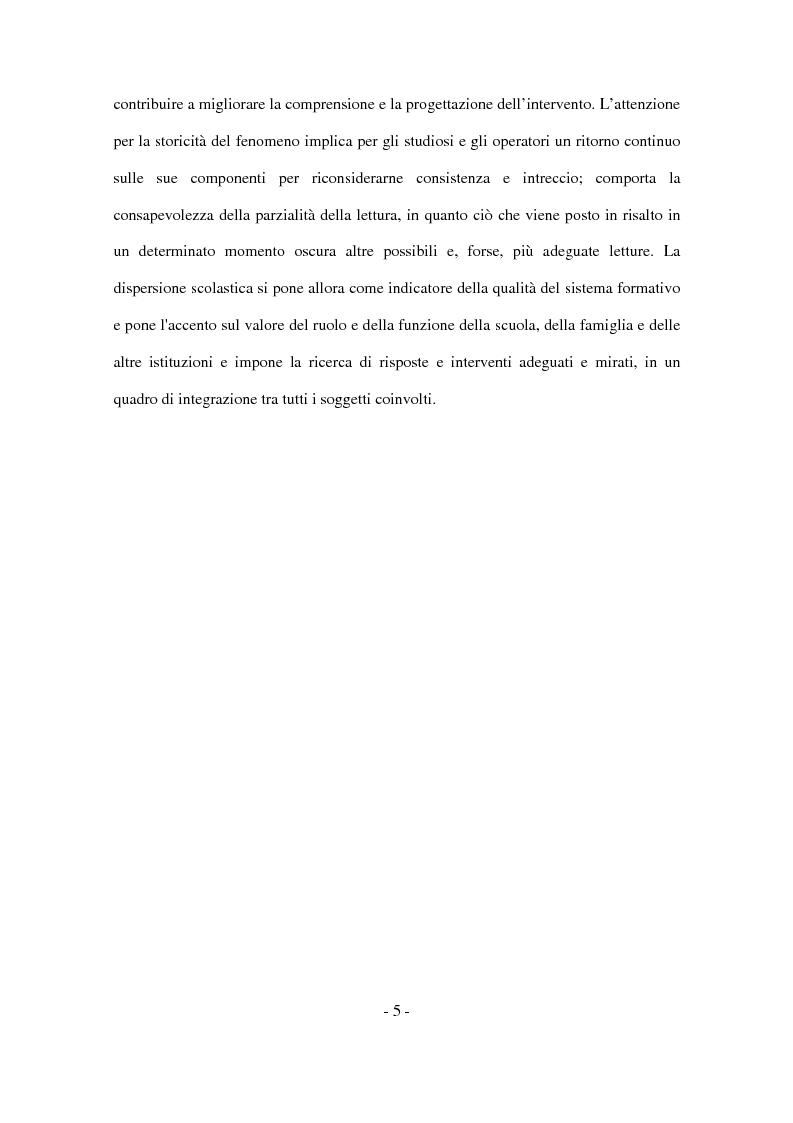 Anteprima della tesi: Il disagio nel contesto scolastico: un'indagine esplorativa in una scuola secondaria di primo grado, Pagina 3