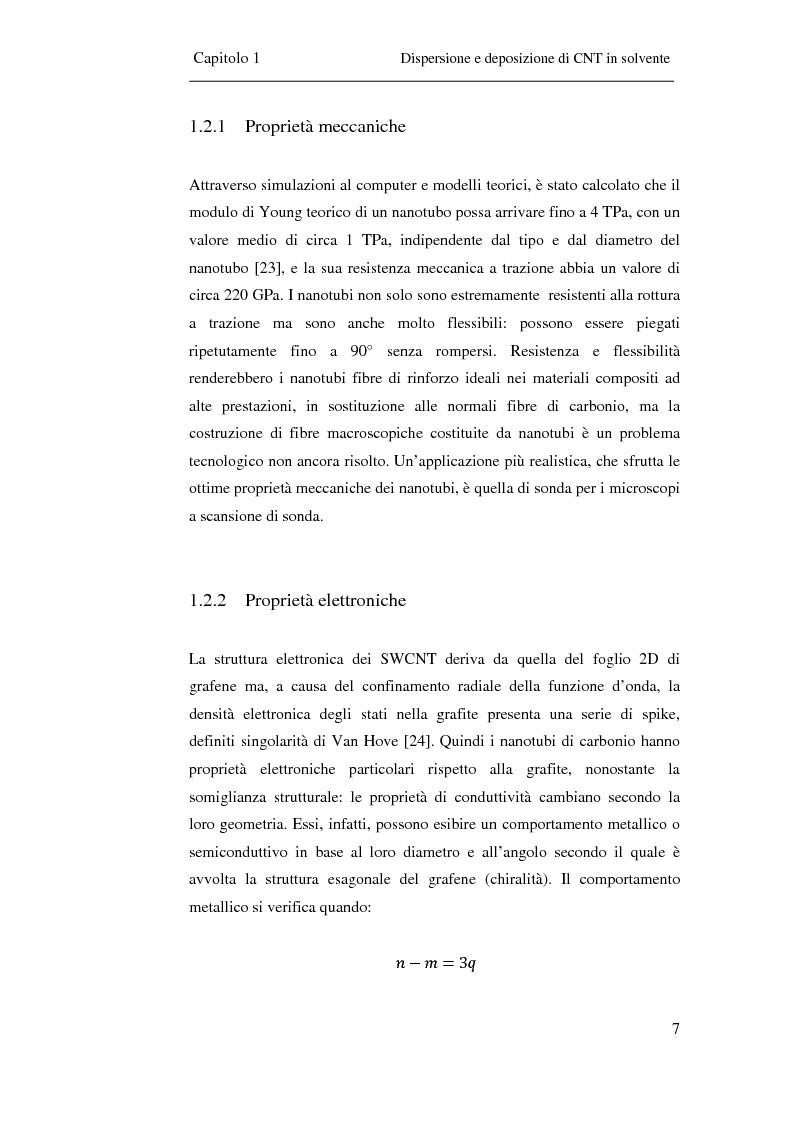 Anteprima della tesi: Film trasparenti nanostrutturati di nanotubi di carbonio su vetro come substrati per la crescita neuronale, Pagina 5