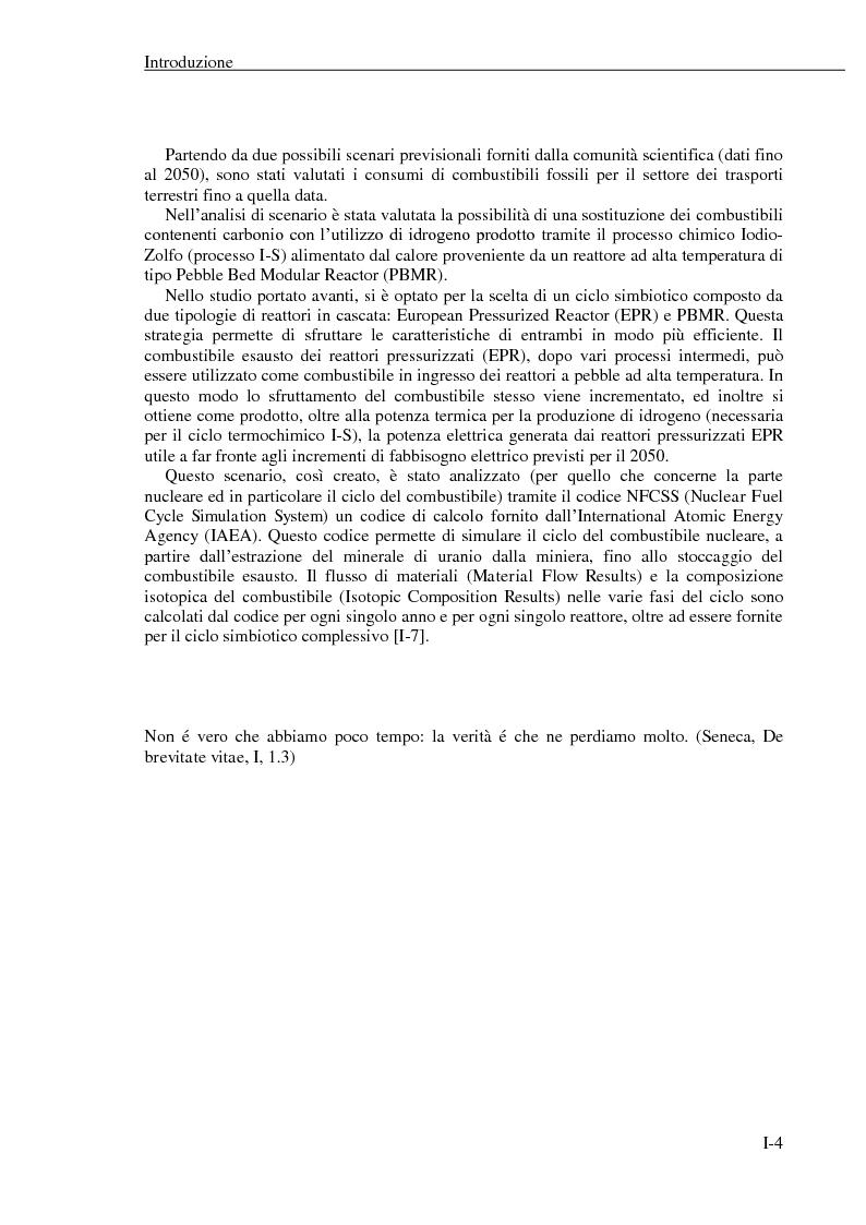 Anteprima della tesi: La produzione di idrogeno per via nucleare: proposta di un possibile scenario energetico per il settore dei trasporti, Pagina 6