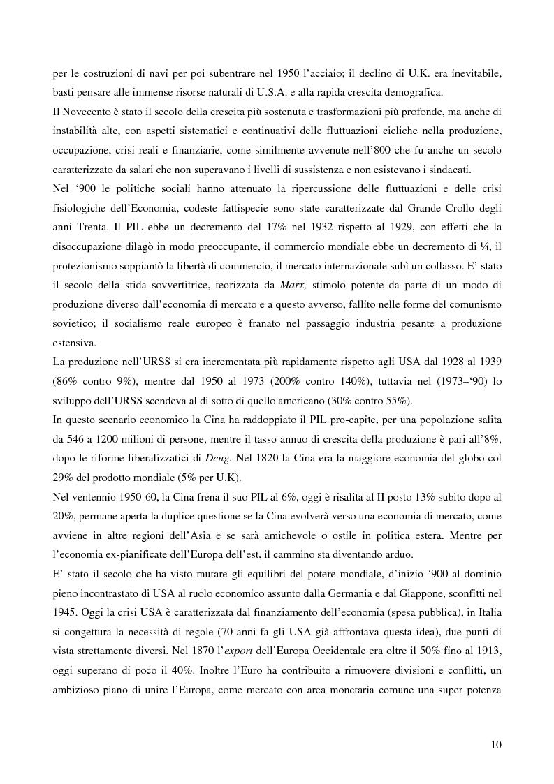 Anteprima della tesi: L'attualità del Grande Crollo degli anni Trenta, Pagina 2