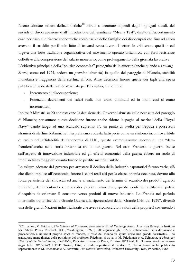 Anteprima della tesi: L'attualità del Grande Crollo degli anni Trenta, Pagina 5