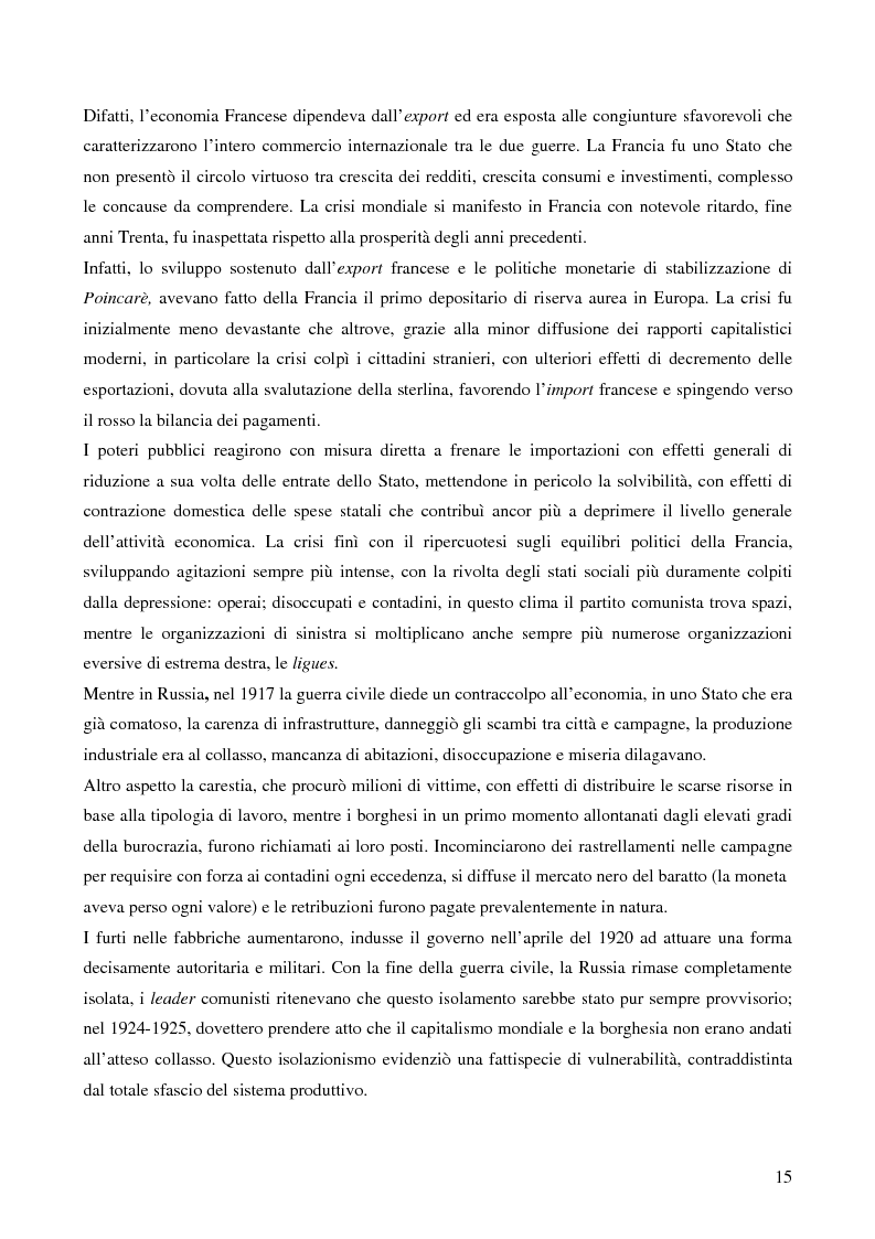 Anteprima della tesi: L'attualità del Grande Crollo degli anni Trenta, Pagina 7