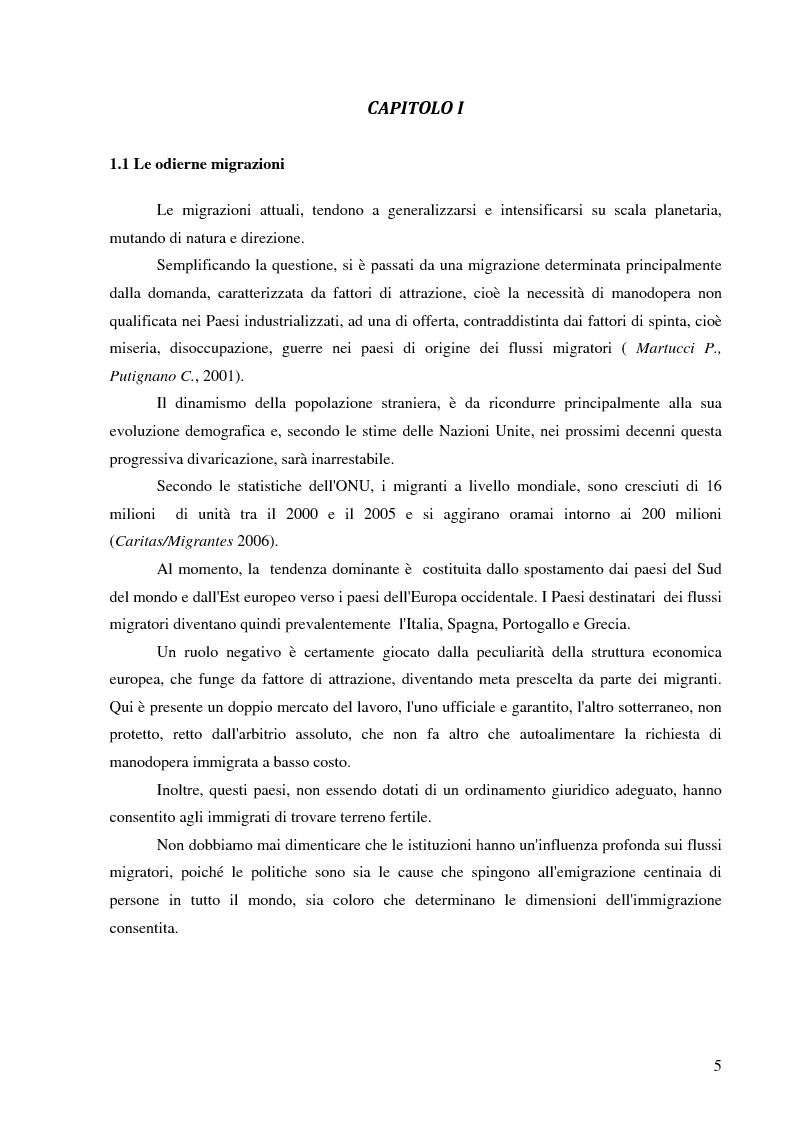 Anteprima della tesi: Immigrazione e violenza intrafamiliare: gli omicidi familiari tra migranti (1996-2009) , Pagina 2