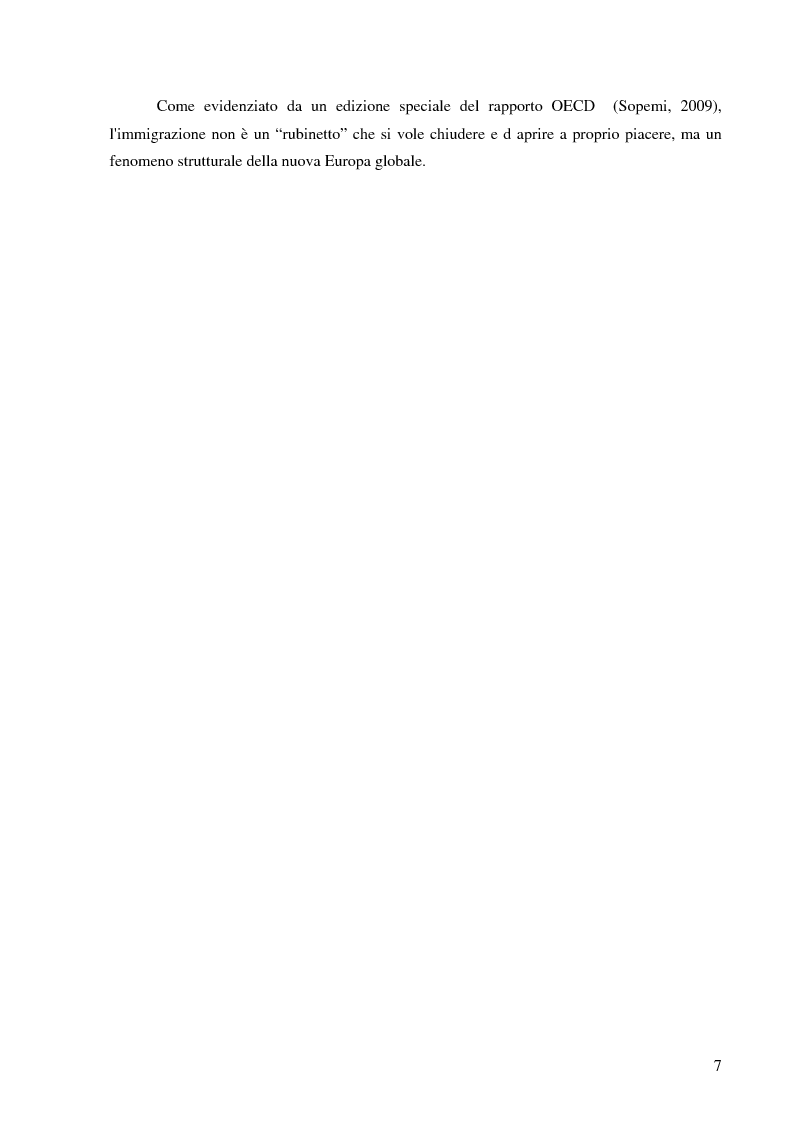Anteprima della tesi: Immigrazione e violenza intrafamiliare: gli omicidi familiari tra migranti (1996-2009) , Pagina 4