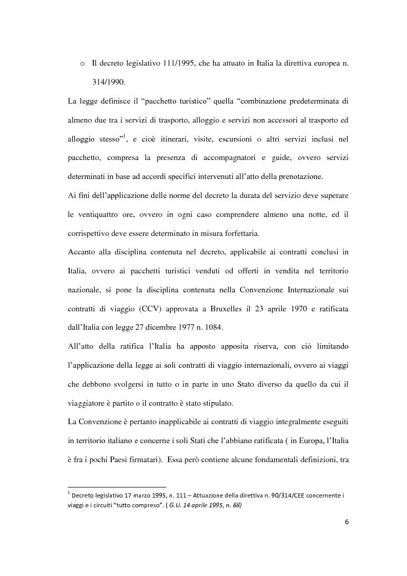 Anteprima della tesi: Il danno da vacanza rovinata, Pagina 2